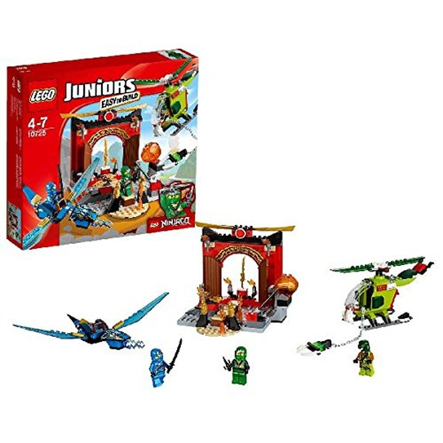LEGO 10725 Juniors LOST TEMPLE Playset