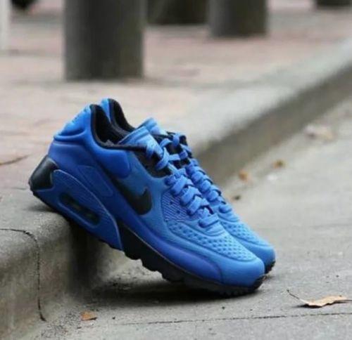 Nike Air Max 90 Ultra SE Hyper CobaltDark Obsidian 845039 401 SIZE 11.5