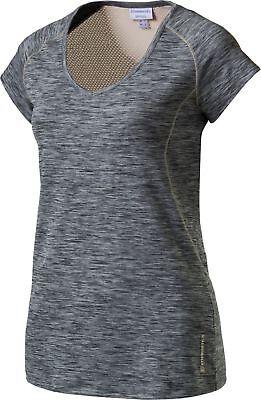 energetics Damen Freizeit Lauf Fitness Gymnastik T-Shirt Gamantha 3 grau meliert