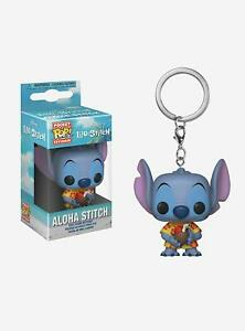 Funko Pop Lilo & Stitch Aloha Special Edition Pocket Keyring Stocking Filler