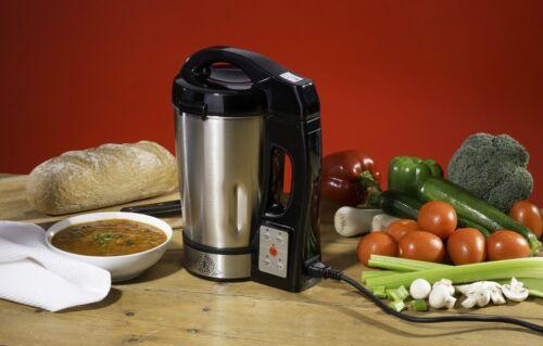 800 W 6 L Hairy Bikers en acier inoxydable Soup Maker Machine /& Juicer robuste sain