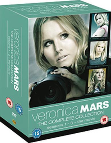 Veronica Mars Seasons 1 To 3 Komplette Sammlung & The Movie DVD Neue DVD (100049