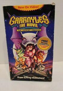 Vintage 1994 Gargoyles The Movie: The Heroes Awaken (VHS + Board Game)