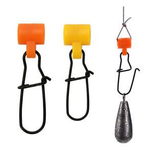 5pcs-Fishing-Line-Fish-finders-Duo-Lock-Snap-High-Strength-Sinker-Slider-35-45mm