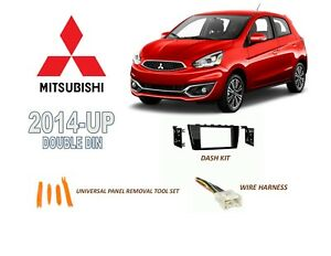 image is loading 2014-up-mitsubishi-mirage-2017-mirage-g4-stereo-