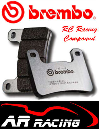 Brembo RC Racing Front Brake Pads To Fit MV Agusta 675 F3 11-On