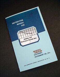 EICO-Model-1171-Resistance-Decade-Box-Instruction-Manual