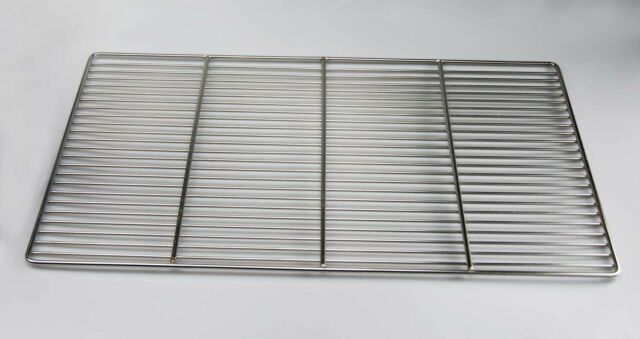 Edelstahl Grill 50x35 54x34 60x40 67x40 Grillrost V2A SCHWER+STABIL Stab 4mm