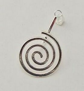 Silver-Plate-Donut-Bead-Bail-Large-25-x-40mm