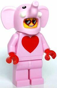 LEGO-CITY-Pink-Elephant-Esclusivo-minifigura-CON-SACCHETTO