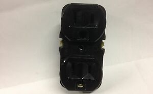 eagle electric cooper wiring devices 298 2bk bu black duplex rh ebay com Wiring Device for Guitar eagle wiring device 869