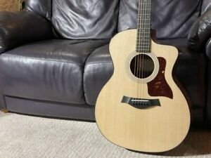 Taylor 214Ce Rosewood Plus Sn 1232 Exhibit Choi Wounds Nagoya Store