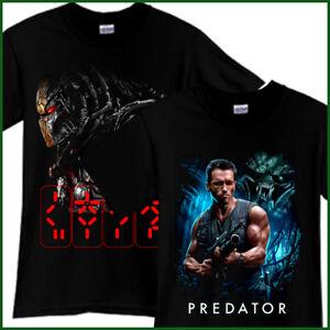 PREDATOR-Horror-Thriller-Movie-Black-T-Shirt-TShirt-Tee-Size-S-M-L-XL-2XL-3XL