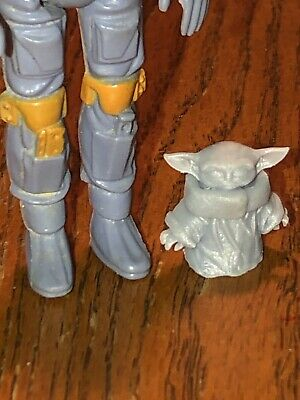 Baby Yoda Star wars  3 3//4 scale 3d printed