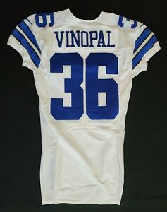 #36 Ray Vinopal of Dallas Cowboys NFL Locker Room Player Issued Jersey