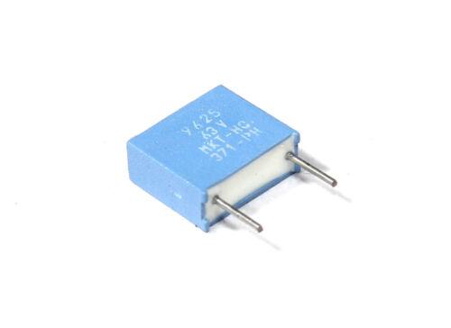 Philips 2.2nf 5/% poliéster 400v película capacitor diapositivas-condensador mkt-hq-370-ph