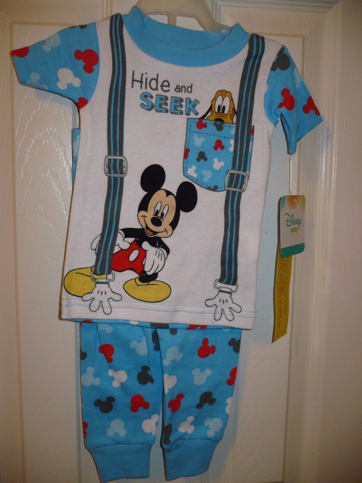 Disney Boys Mickey Mouse Pajamas