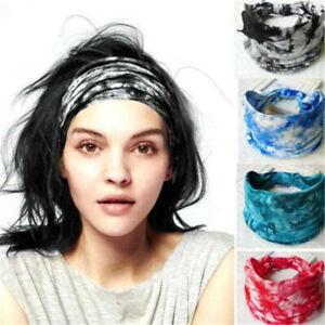 Women-Lady-Soft-Turban-Twist-Headband-Head-Wrap-Yoga-Knotted-Knot-Hair-Band