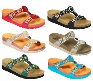 SCHOLL-NEW-BOGOTA-WEDGE-Bioprint-sandali-ciabatte-zoccoli-pantofole-donna-zeppa