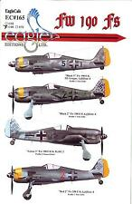 EagleCals Decals 1/48 FOCKE WULF Fw-190F German WWII Fighter