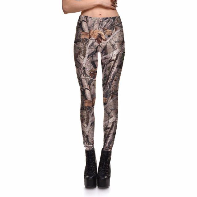 girl leggings Fashion Dry Wood Branches Printed Women Legging pant C0743
