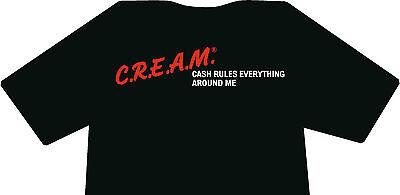 CREAM Wu-Tang Clan JDM Shirt With Decals Wu Tang