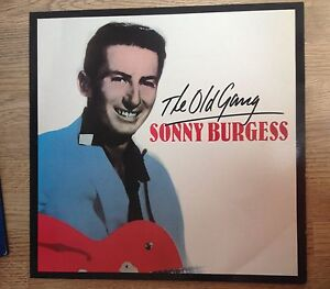 LP-Rockabilly-Sonny-Burgess-034-The-old-gang-034-Charly-Records-1981-EXC