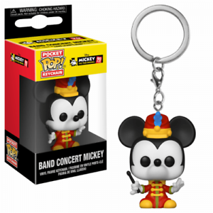 Keychain Pocket POP Mickey/'s 90th Anniversaire-Band Concert Mickey