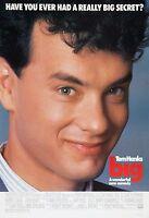 Big (1988) Original Movie Poster - Rolled