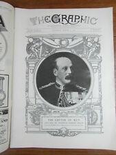 genre L ILLUSTRATION : WWI WAR GUERRE 14/18 : revue THE GRAPHIC 1917 Nr 2466