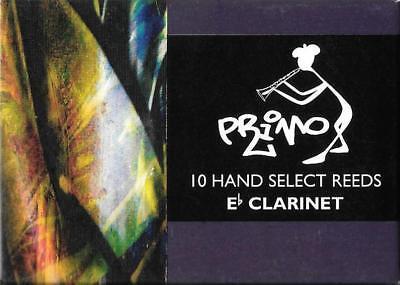 Primo # 3 Eb Klarinettenblätter Brandneu Gut Verkaufen Auf Der Ganzen Welt packung 10
