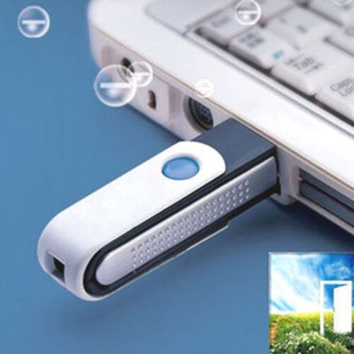 Hot USB Ordinateur lonic Fresh ozone Purificateur d/'Air Ioniseur pour Tablette PC Ordinateur Portable