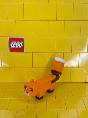 Lego Minecraft Fox Minifigure *NEW*