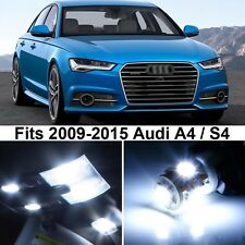 16 x Premium Xenon White LED Lights Interior Package Upgrade for Audi A4