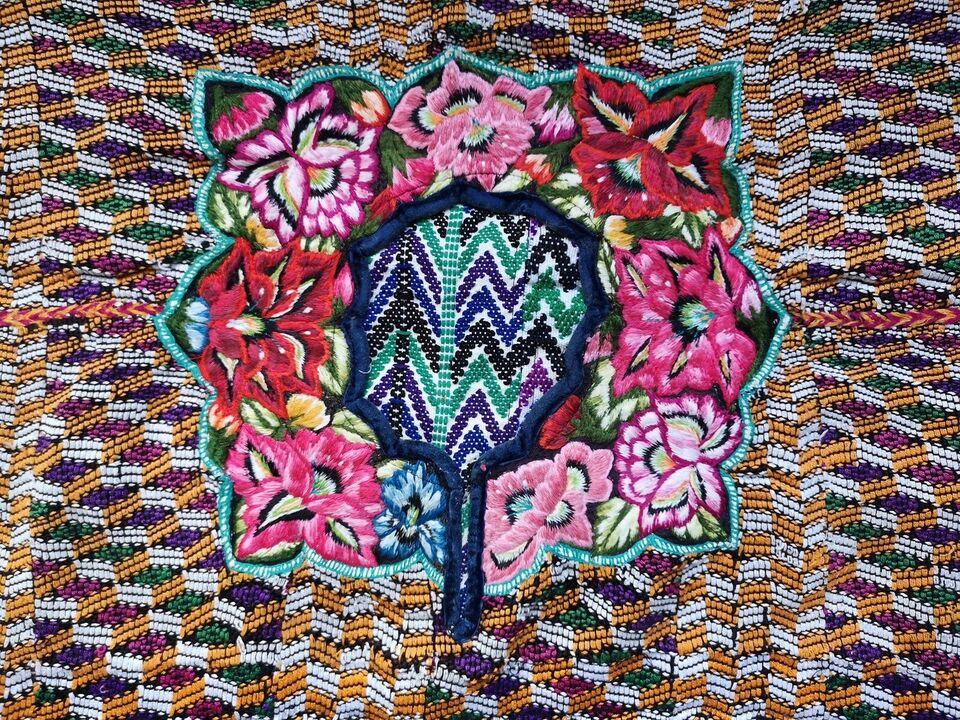 Håndvævet tæppe, Mexico/Peru/indiansk