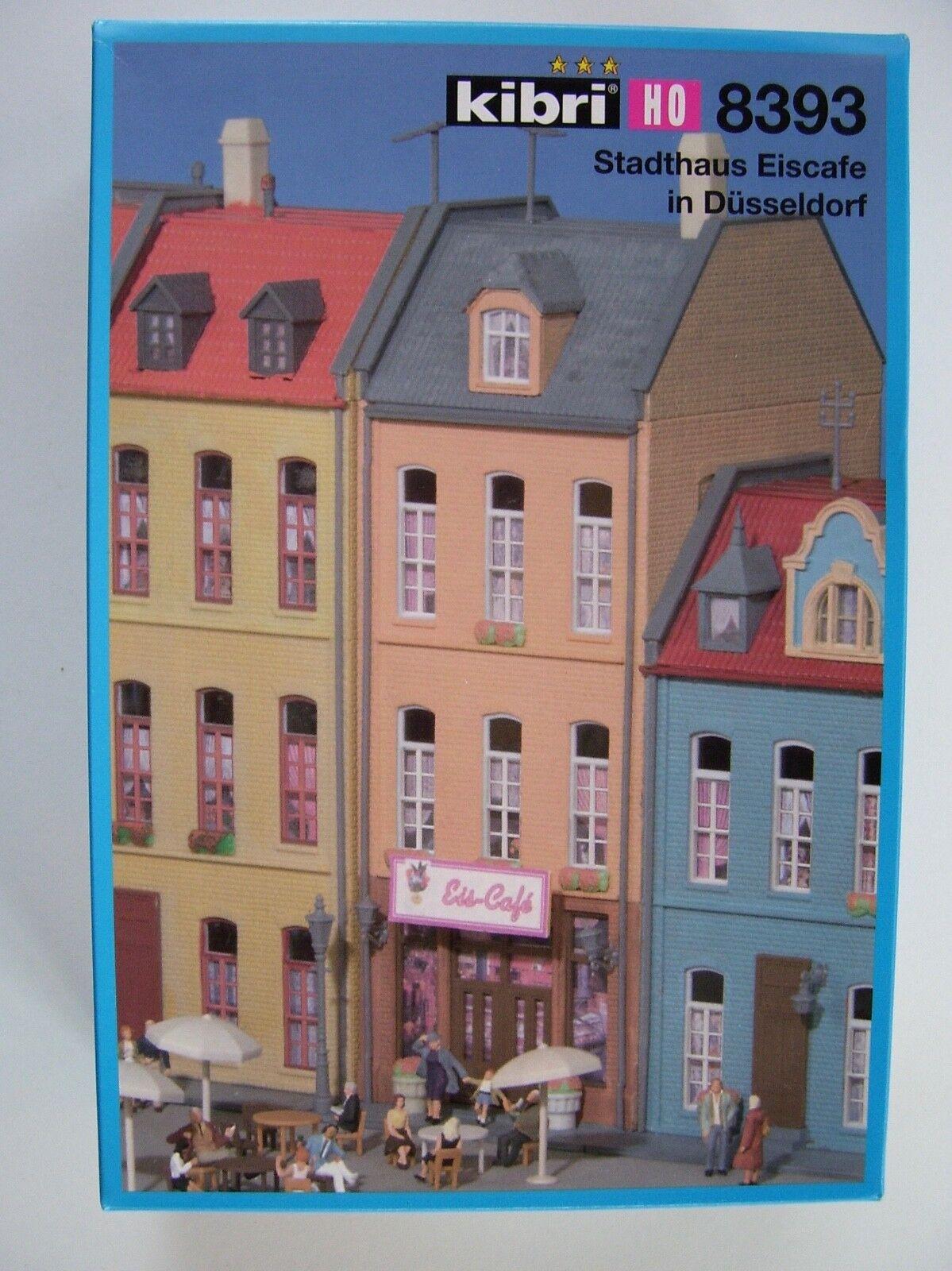 Kibri 8393 HO Scale Stadthaus Eiscafe in Dusseldorf Kit NIB