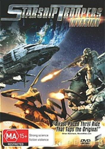 1 of 1 - Starship Troopers: INVASION : NEW DVD