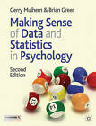 Making Sense of Data and Statistics in Psychology by Gerry Mulhern, Brian Greer (Paperback, 2011)