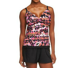 $102~DreamShaper by Miraclesuit Lauren Tankini with Swim Short~A232773
