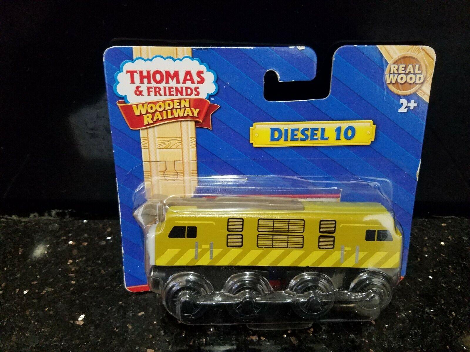 Diesel 10 (Y4076) Thomas & Friends Tank Train Engine Engine Engine Wooden Railway Sealed NEW  50f488