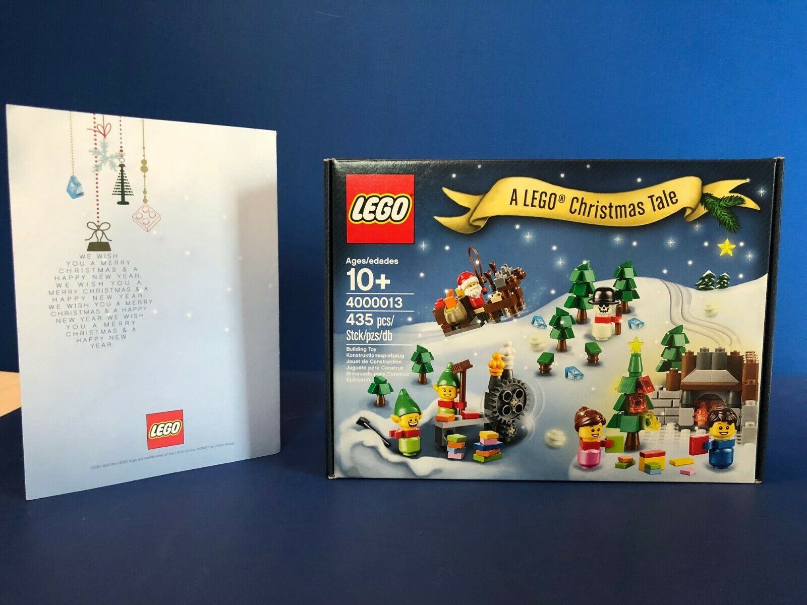 LEGO Employee Christmas Gift Gift Gift - A LEGO Christmas Tale 4000013 w  Card 2bed68