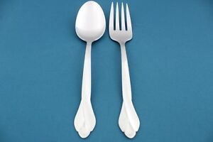 Serving-Tablespoon-Meat-Fork-Oneida-TRIBECA-GLOSSY-Stainless