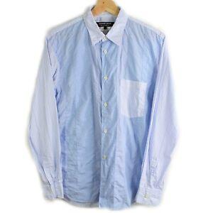 Junya-Watanabe-Comme-Des-Garcon-Homme-Deaux-Button-Down-Shirt-Men-039-s-Size-Small