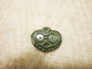 RARE ANCIENT Viking Bronze Belt Decoration 9 - 10 century AD  #2