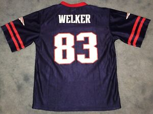 1fdf2f40b00 Wes Welker New England Patriots #83 NFL Football Jersey Youth Size ...
