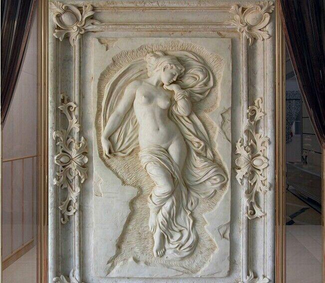 3D 3D 3D Grau Statue Pattern Art 30 Wall Paper Wall Print Decal Wall Deco AJ WALLPAPER 546563