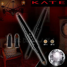 Kanebo KATE Lasting Eyebrow W Double Tip FLAT Pencil + Eyebrow Powder DUAL NEW