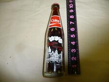 "Full 10 oz Tall Coke Bottle: Tallapoosa, GA 125 Years ""The Dogwood City"""