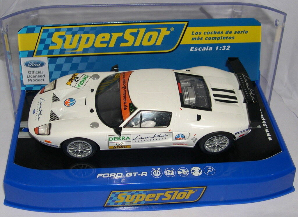 SUPERSLOT H3290 FORD GT-R LAMBDA RACING SCALEXTRIC UK MB