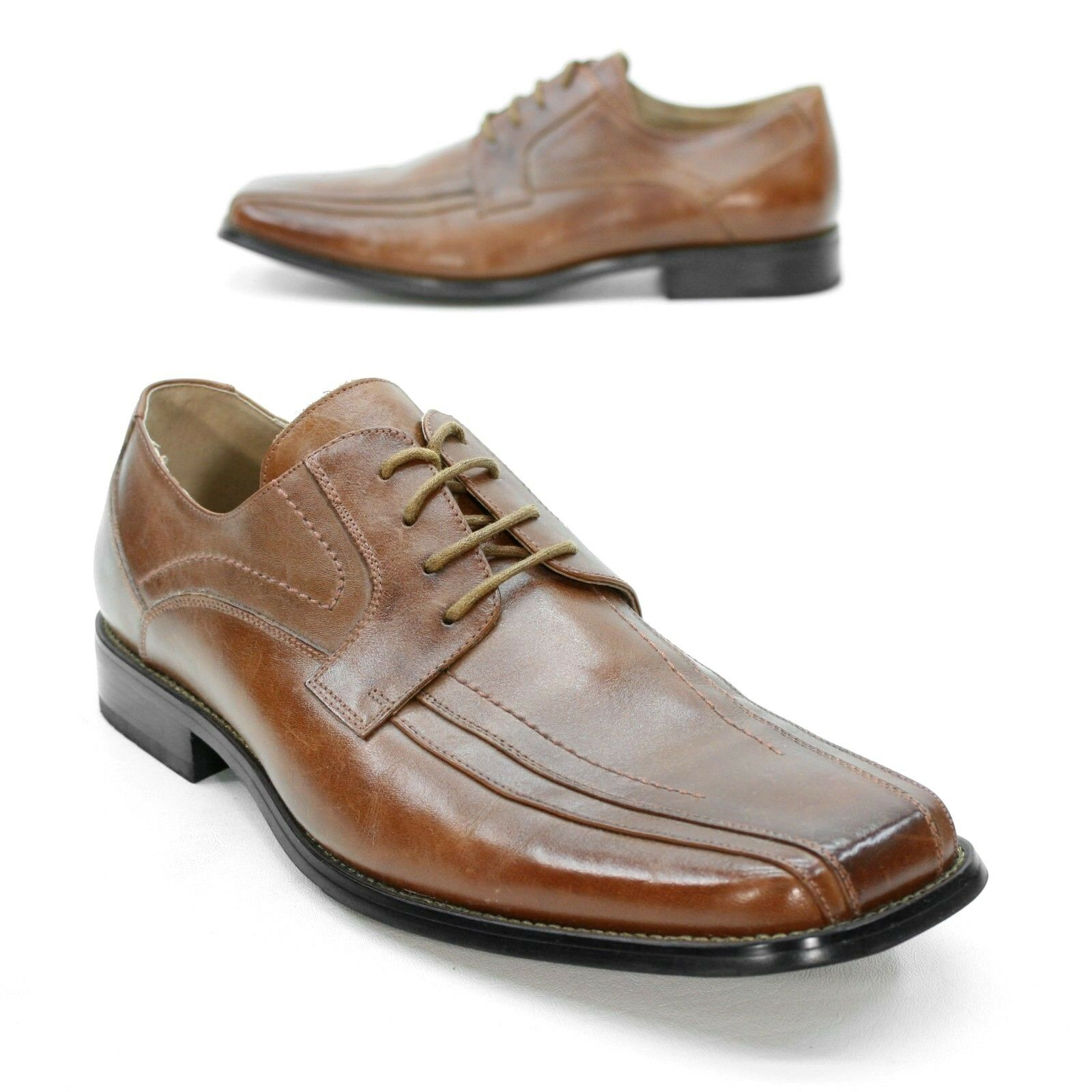 59088466c9f Stacy Adams Men's 12 Brown Cognac Leather Bicycle Toe Oxfords Dress shoes.  Merrell Men Boots ...